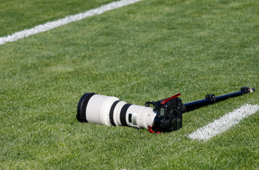 photo equipment on green grass