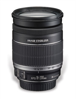 Canon EF-S 18–200mm