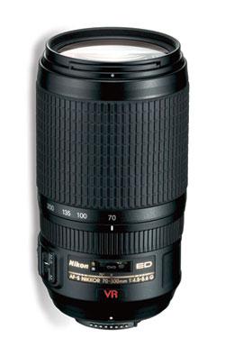 Nikon's AF-S VR Zoom-NIKKOR 70–300mm