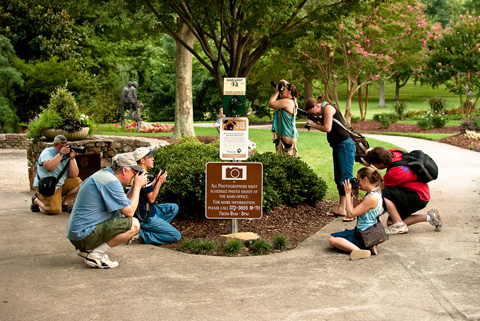 Greensboro NC (Bicentennial Gardens - Evan Brennansm