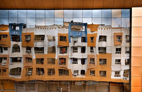 Reflection of Appartment