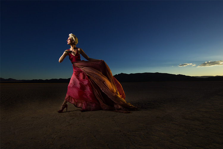 Desert Fashion Shoot With Behind The Scenes Pics And Video Scott Kelby S Photoshop Insider