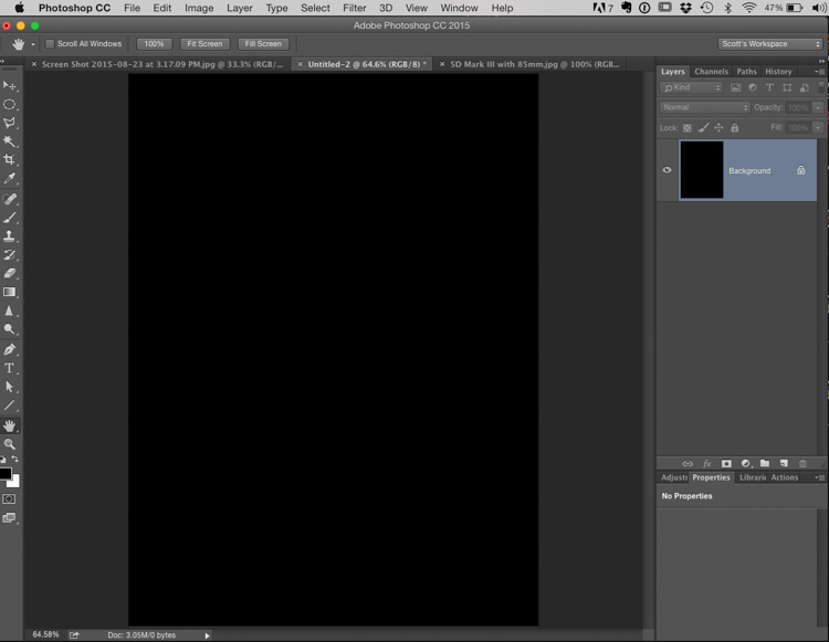 It's Photoshop Down & Dirty Trick Friday (Reflection & Lighting Advertising Effect)