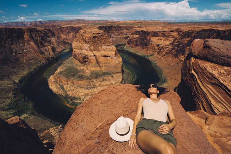 Horseshoe bend in Page, Arizona (Photo by Jeff Lombardo)