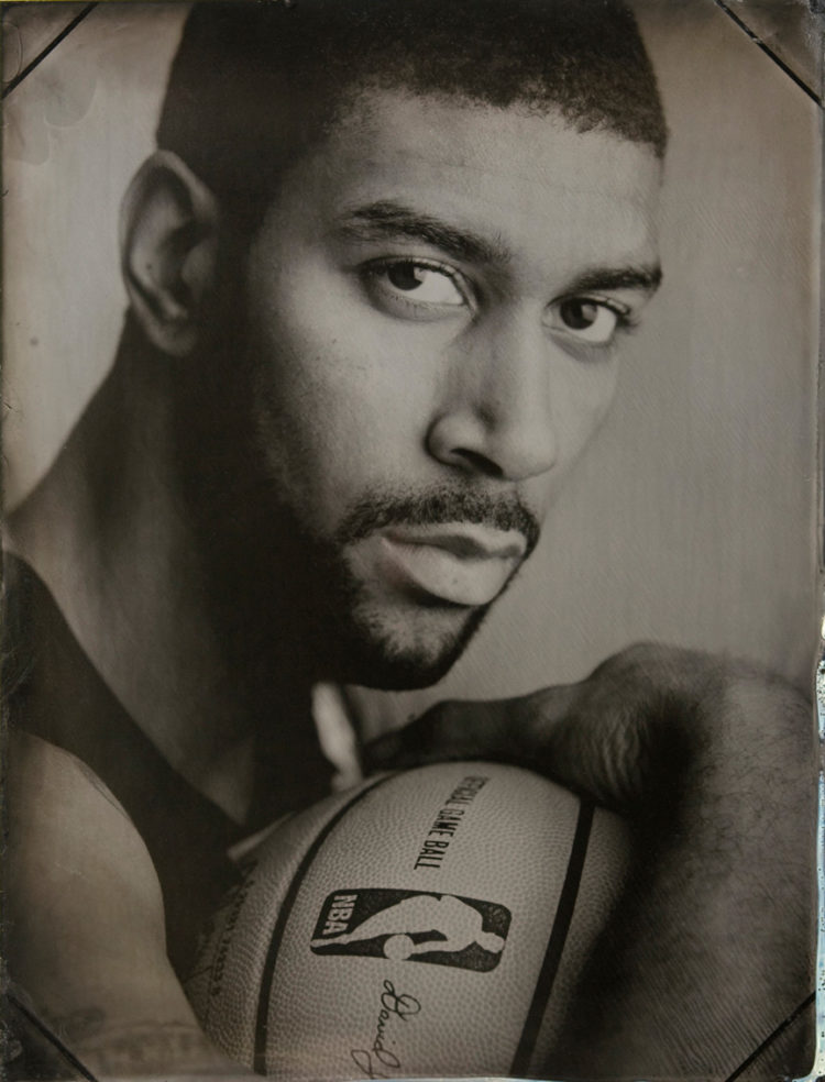Tintype Portrait of OJ Mayo