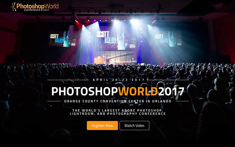 Photoshop world orlando 2017 registration is now open whoo hoo